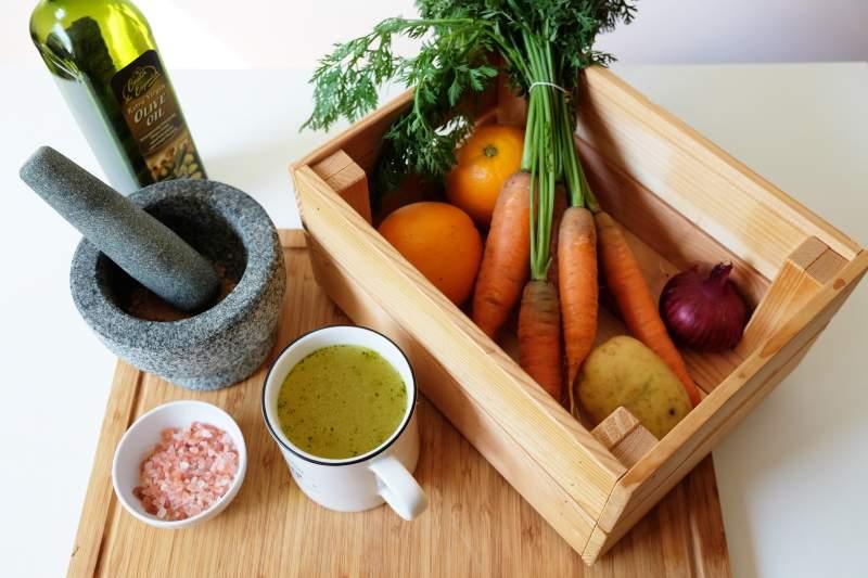 Mrkvovo – koriandrová polievka
