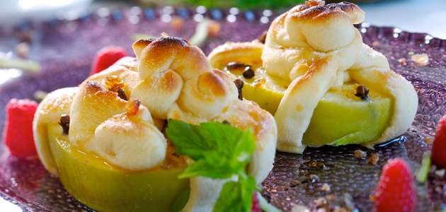 Nórske zapečené jablčné chlebíky si vás získajú