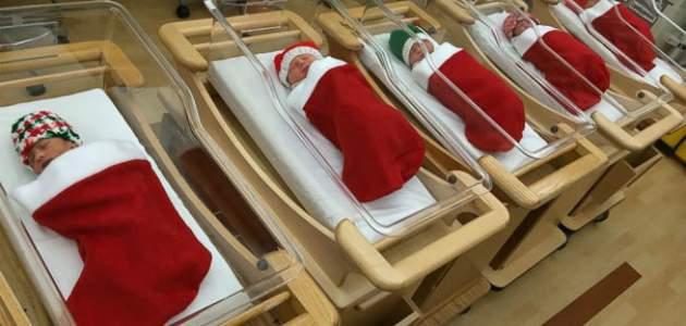 Vianoce v nemocnici? Týchto 10 originálnych fotografií vás dostane