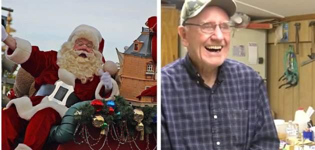 Tento 80-ročný starček je skutočným Santa Clausom! Už 50 rokov vyrába hračky pre deti z chudobných rodín