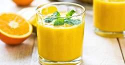 Pripravte si pomarančové SMOOTHIE na dodanie energie