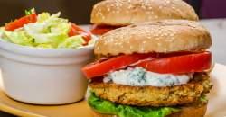 Domáci šošovicový burger