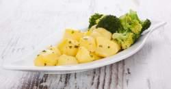 Zdravá a ľahká večera - brokolica s taveným syrom