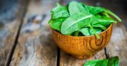 Špenát vás zasýti i bez kalórií