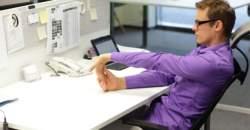 Rozhýbte svoje telo v práci ľahkými strečingovými cvičeniami