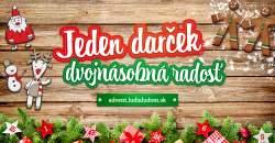 Jeden darček, dvojnásobná radosť: ĽudiaĽuďom.sk spúšťa adventné benefičné aukcie s dvomi desiatkami osobností