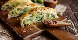 Recept týždňa: Lístkový závitok so syrom a zeleninou