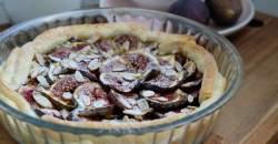Fotorecept: figový koláč