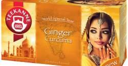 TEEKANNE Ginger & Curcuma: Zlatý dotyk orientu plný zdravia