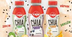 Vyhodnotenie súťaže o CHIA jogurtový nápoj od Rajo