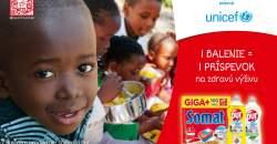 Henkel a UNICEF uzavreli partnerstvo: Značky Somat a Pur pomôžu deťom trpiacim podvýživou
