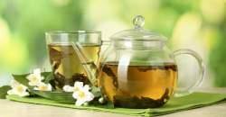 Zelený a čierny čaj