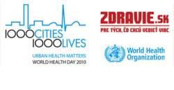Svetový deň zdravia na ZDRAVIE.SK - 1000 miest, 1000 životov