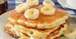 Len 3 ingrediencie - banánové lievance