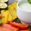 Pečená zelenina s chrenovým dresingom