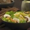 Šalát s avokádom a špenátom