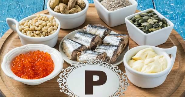 Koľko fosforu potrebuje naše telo?