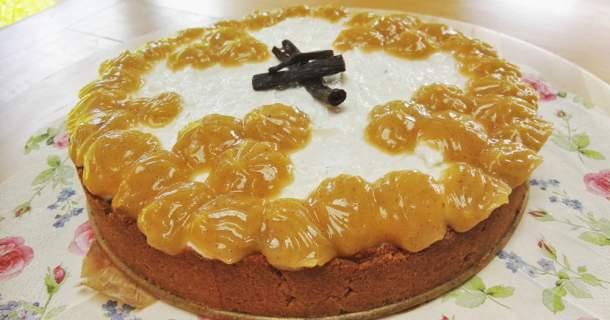 Zdravý vanilkový cheesecake
