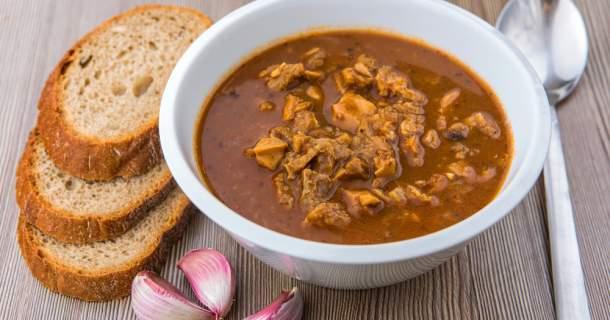 Falošná držková -  skúste polievku z podpňoviek