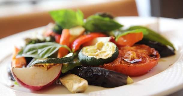 Grilovaná zelenina (aj bez grilu)