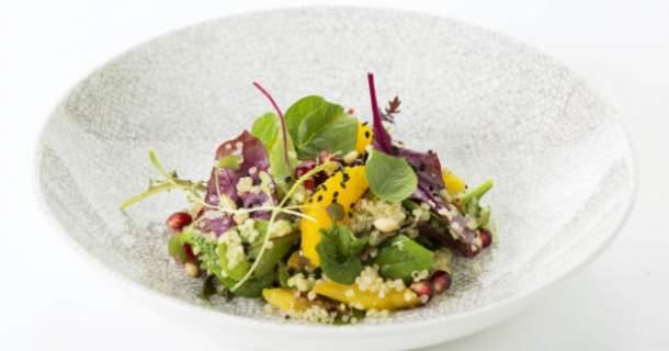 Quinoa šalát s fazuľou adzuki