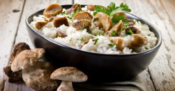 Zdravá hubovo-mäsová špecialita