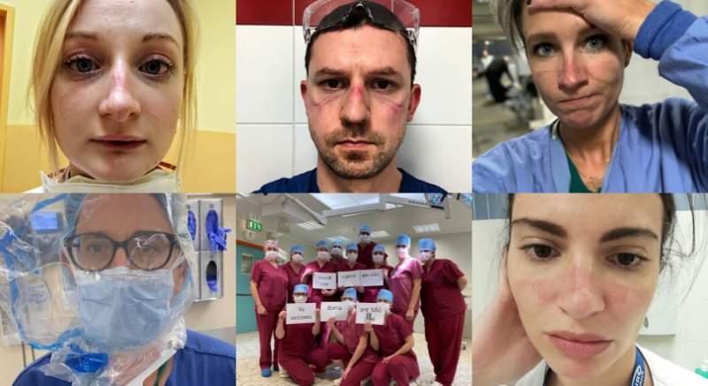 Hrdinovia týchto dní: 10 fotiek a odkazov od lekárov a zdravotných sestier, bojujúcich s koronavírusom po celom svete!